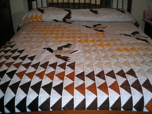Flying Geese Quilts - Quilting Gallery /Quilting Gallery : geese quilt - Adamdwight.com