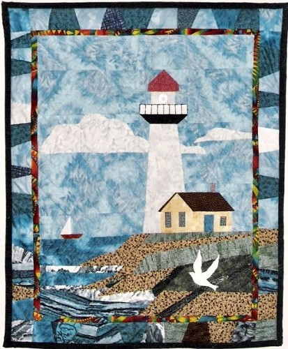 Lighthouse Quilt Pattern : Seashore Quilts - Quilting Gallery /Quilting Gallery