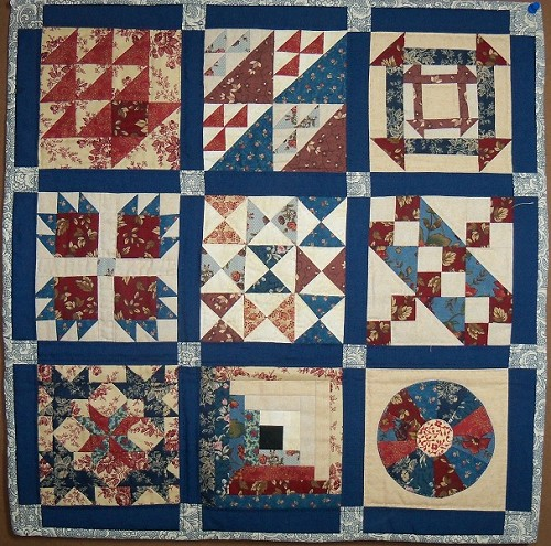 Quilt Patterns Slaves Used : Miniature Quilts - Quilting Gallery /Quilting Gallery