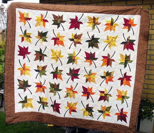 Fall Splendour Quilts - Quilting Gallery /Quilting Gallery : leaf quilts - Adamdwight.com