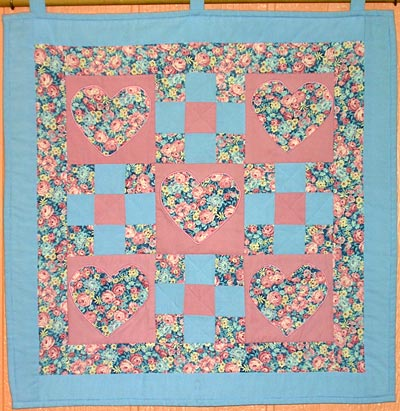 Simple Quilted Wall Hanging Patterns Free Quilt Pattern