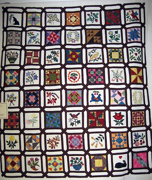 Fantastic Sashing and Applique - Quilting Gallery ...