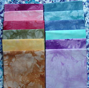 hand dyed cottons