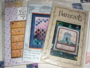 Dorothy Baker donated patterns