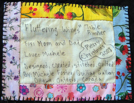 fluttering-wings-label