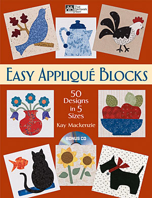 Easy Appliqué Blocks: 50 Designs in 5 Sizes