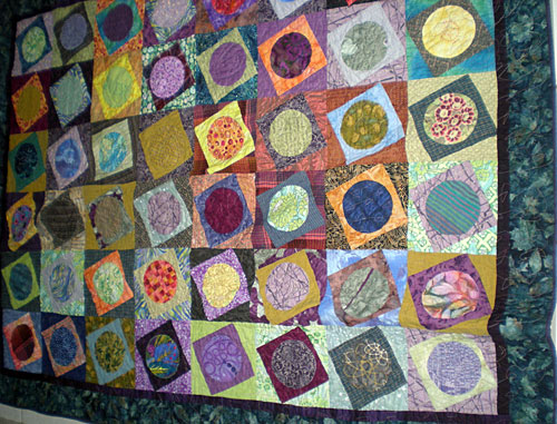 Terri Thayer - Latest Quilt