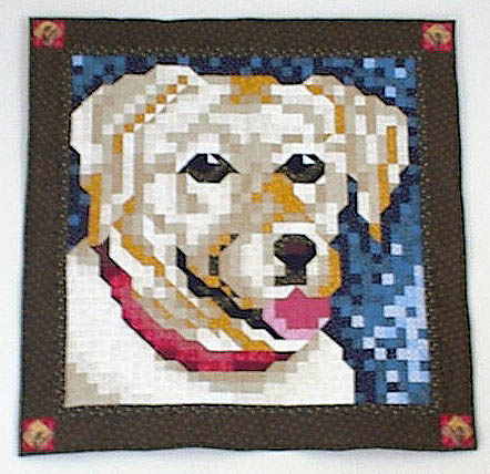 Yellow Lab Quilt