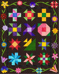 Alli Crafts: Free Pattern: Tulip-like Flower Applique