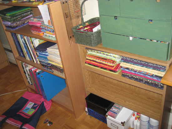 shelves