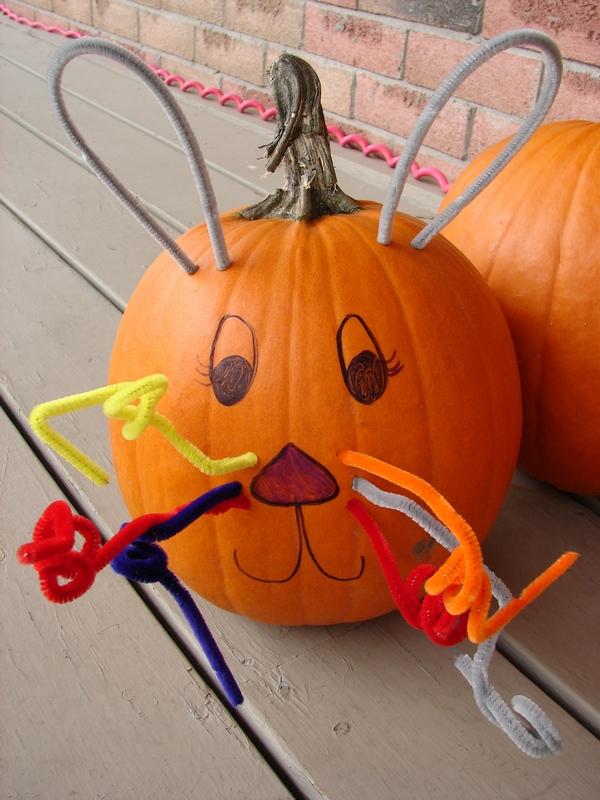 Bunny pumpkin quilting gallery