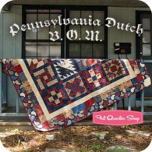 Pennsylvania Dutch Sampler Quilt