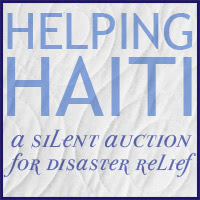 Helping Haiti:  Silent Auction at the Fat Quarter Shop