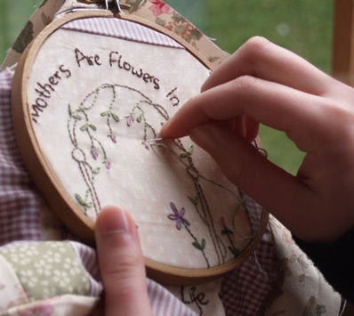 How to Embroider – The Importance of Using an Embroidery Hoop