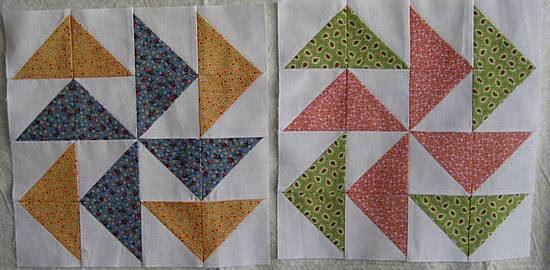 pinwheel block 6