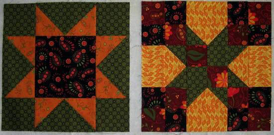 Summer Star Sampler blocks-1-2