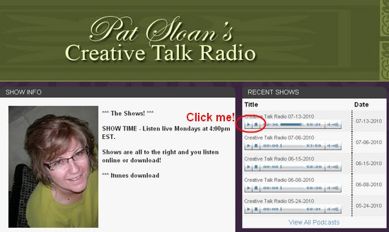 creative-talk-radio-web-site