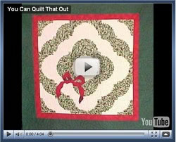 Hilarious Video: You Can Quilt That Out