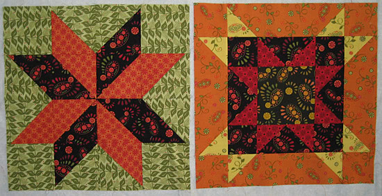 Summer Star Sampler blocks-7-8