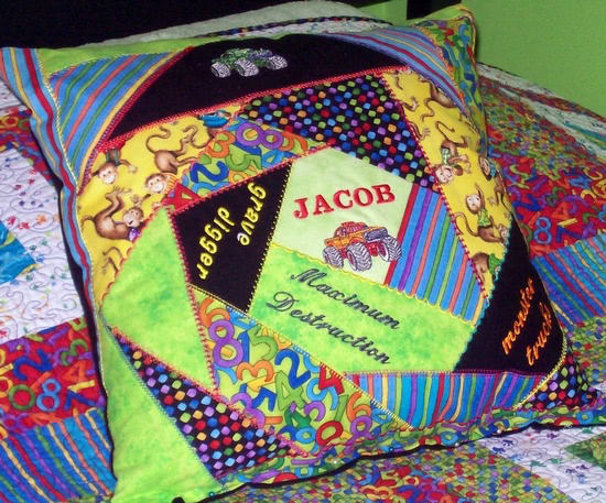 Jacob's Crazy Pillow