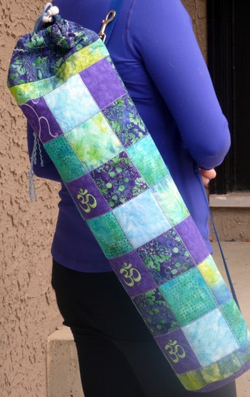 Patchwork Yoga Mat Bag
