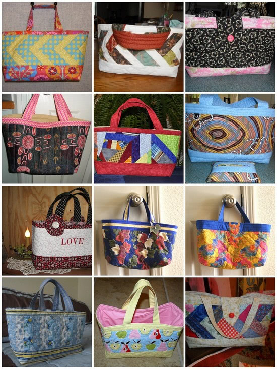 Quilted Fabric Baskets