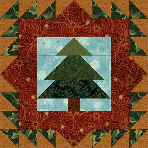 A Border Creek Christmas Block