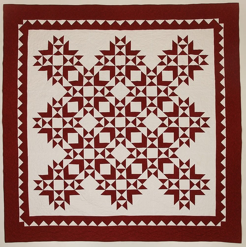 magenta quilt