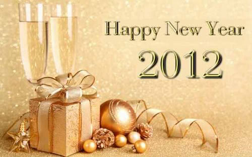 a very happy new year to you