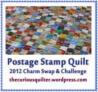2012 Postage Stamp Quilt Challenge Button