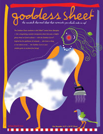 Goddess Sheet Pressing Sheet