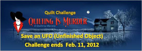 Quilt Challenge Save a UFO