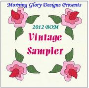 Vintage Floral Sampler