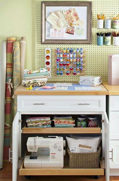organize sewing