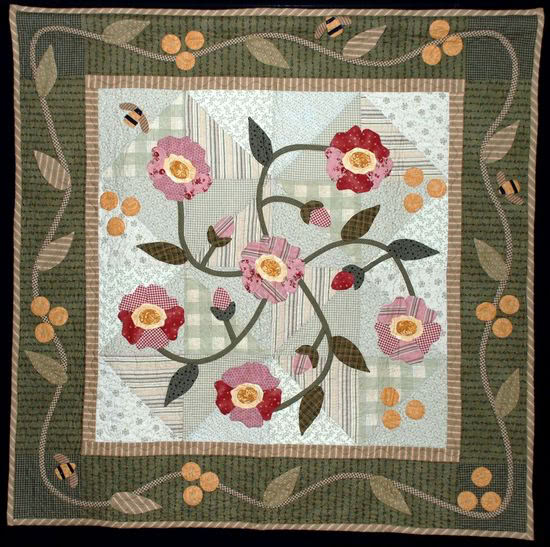 Double Wedding Ring Quilts For Sale 70 Awesome Pat Sloan Wild Rose