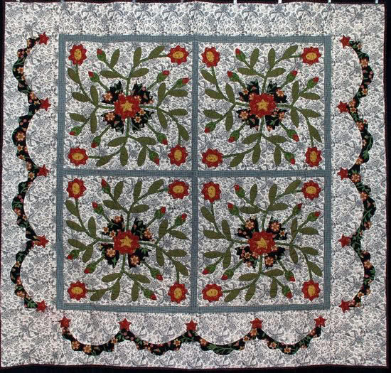 Double Wedding Ring Quilts For Sale 82 Fancy pat sloan whig rose