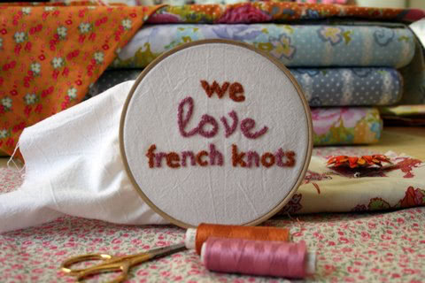 We Love French Knots