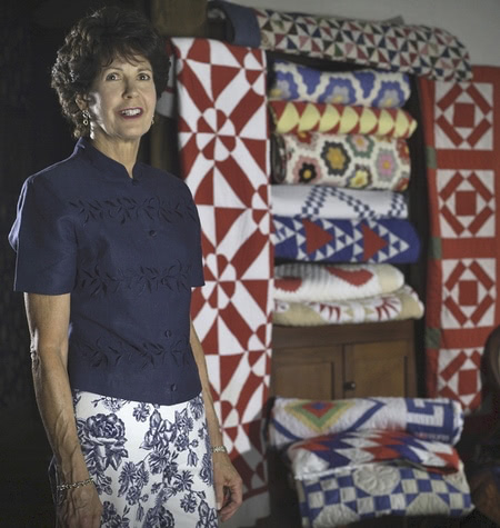 photo with quilt cupboard
