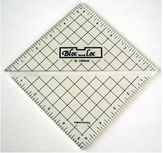 Bloc-Loc Ruler
