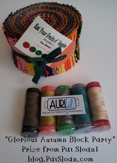 Pat Sloan Glorious Autumn Block Party Prize