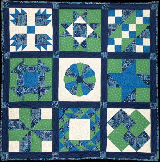 pat sloan second first quilt