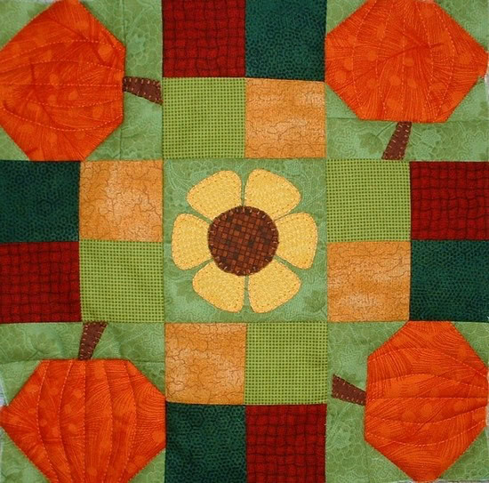 Patchsmith Spinning Pumpkin Block