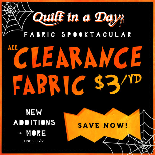 Clearance Fabric $3/yd