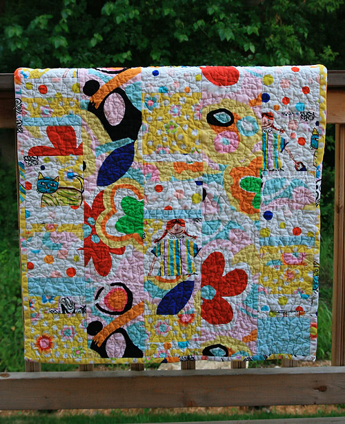 Faith Jones First Quilt