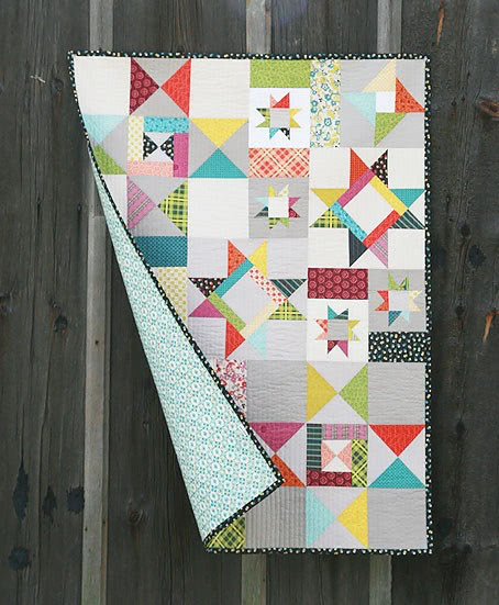 Faith Jones Starfall Quilt