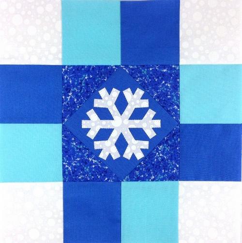 Snowflake Spinner Block