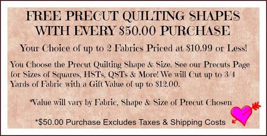 Free Precut Shapes
