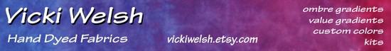 Vicki Welsh Hand Dyed Fabrics