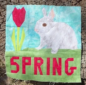 bunny-in-spring