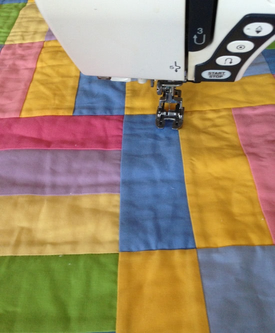 quilting-ditch